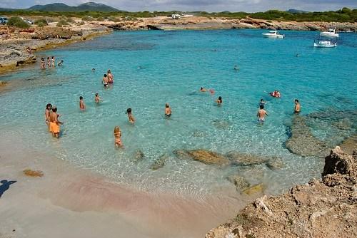 Playa S'Algar y Cala Brafi ( Portocolom)