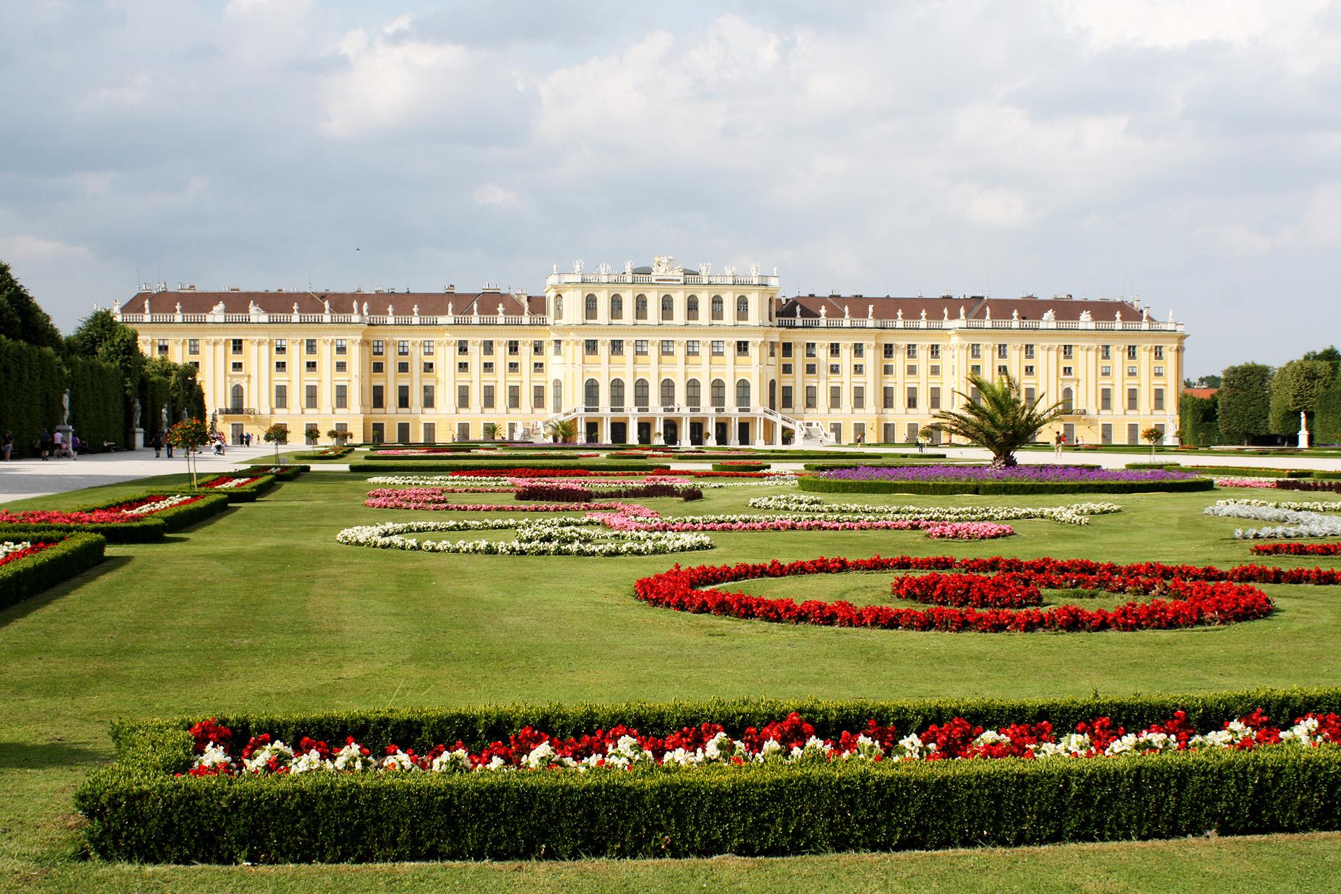 Schönbrunn Palace.