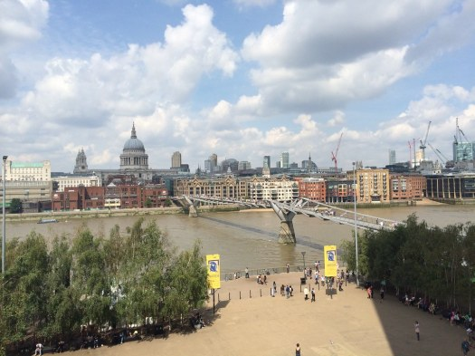 View from the balcony of Tate Modern