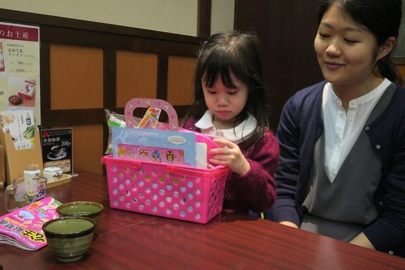 のきば準備給小孩的禮物盒