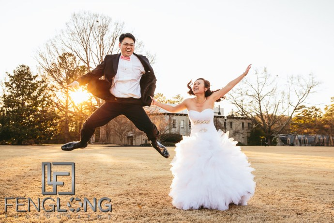 Britney & Viet Bridal Session | Oglethorpe University | Atlanta Vietnamese Wedding Photographer