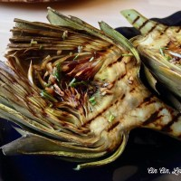 Grilled Artichokes [recipe]