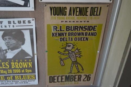 Young Avenue Deli R. L. Burnside Poster034