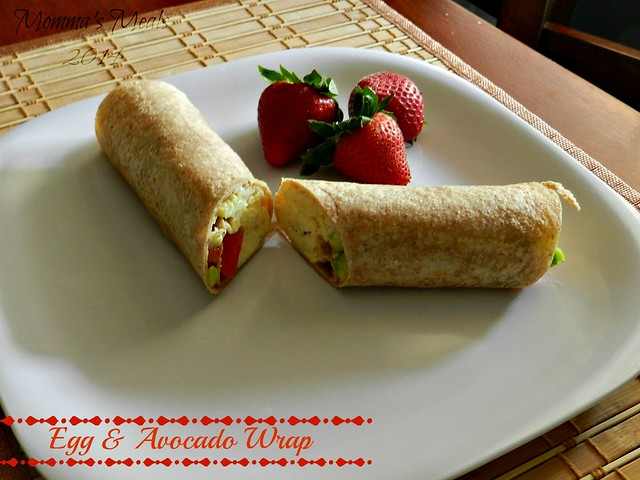 Egg & Avocado Breakfast Wraps (5)