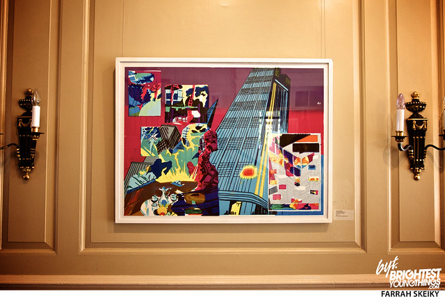 The Art of Comic Books Mansion at Strathmore Brightest Young Things Farrah Skeiky 10