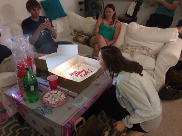 Kaylin's birthday party
