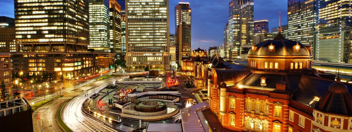Tokyo Station from JP KITTE Tower