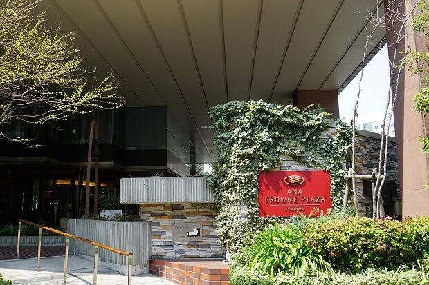 170419 ANAクラウンプラザホテル福岡外観