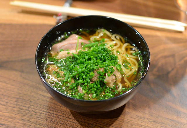 Duck and Grilled Hama Hama Oyster Ramen