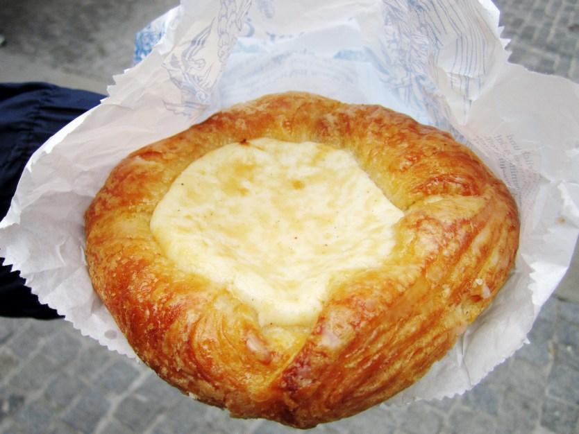 Cheese Danish, Viktualienmarkt, Munich.