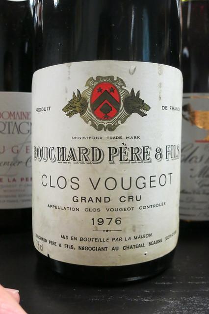 1976 Clos de Vougeot, Bouchard P&F