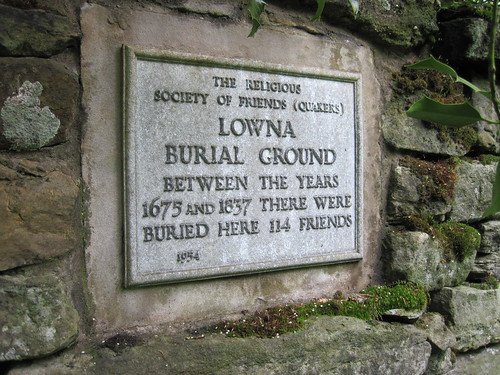 Quaker Burial Ground, Lowna