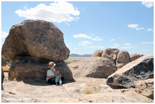 Breastfeeding at City of Rocks
