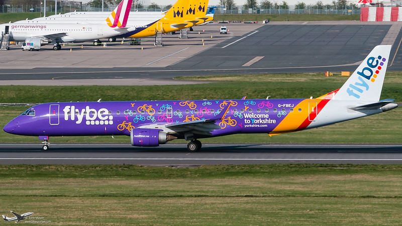 G-FBEJ E195 BEE