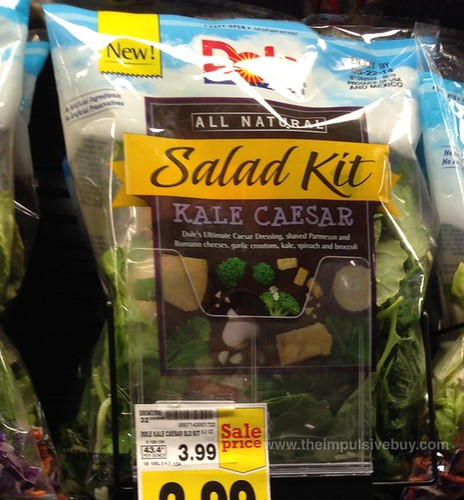Dole Kale Caesar Salad Kit