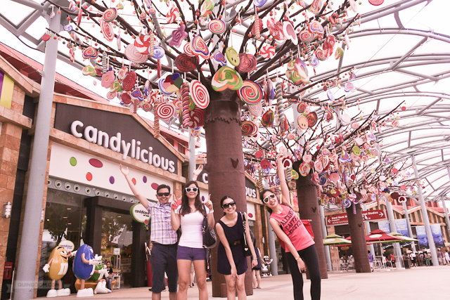 By the candy trees