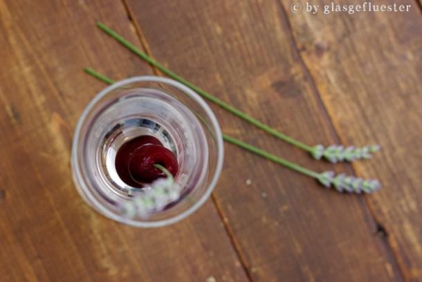 Kirschlavendel Cocktail by Glasgefluester 3 klein