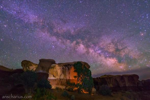 Last Night @ Devils Garden #2 - Nikon D800E & AF-S 2,8/14-24mm