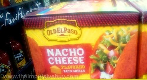 Old El Paso Nacho Cheese Flavored Taco Shells