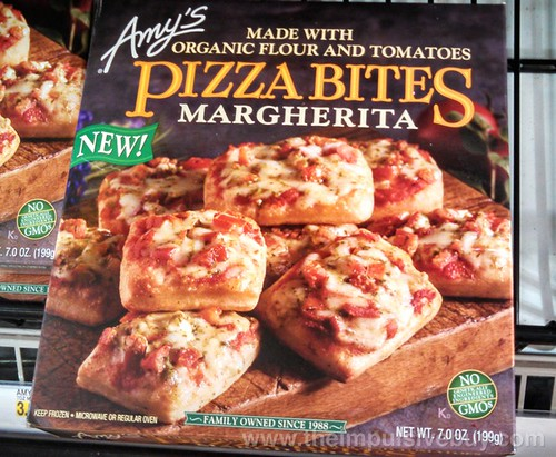 Amy's Margherita Pizza Bites