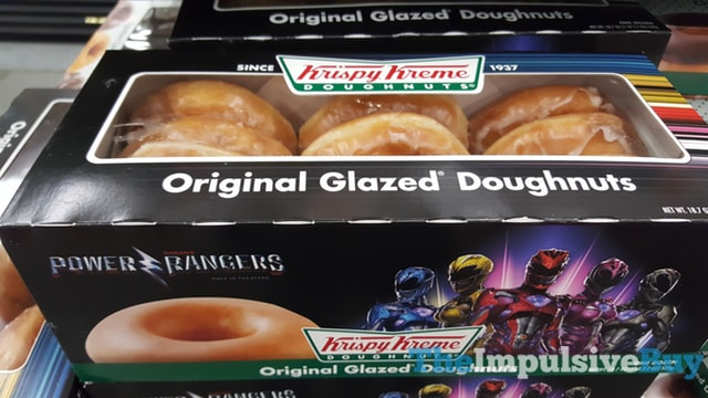 Krispy Kreme Power Rangers Original Glazed Doughnuts