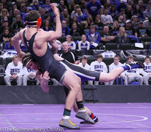 160 - Ethan Shea (Kasson-Mantorville) over Nolan Wanzek (Simley) Dec 1-0