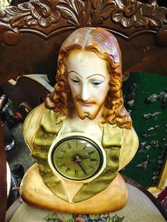 Jesus Clock Lamp