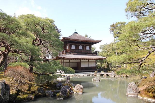 銀閣寺水景