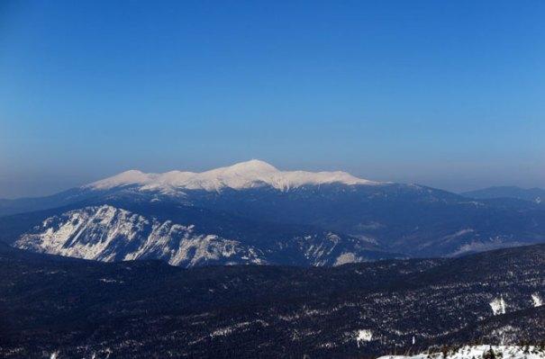 Mt Carrigain Summit View Mt Washington