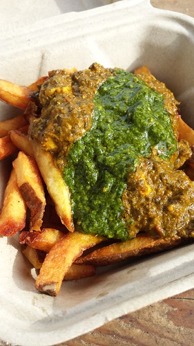 Palak Paneer Fries from Potato Champion