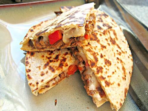 Chipotle Beef Quesadilla