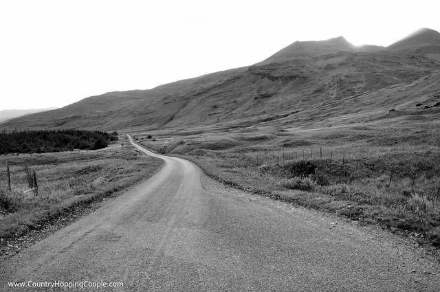 Drive through Isle of Mull