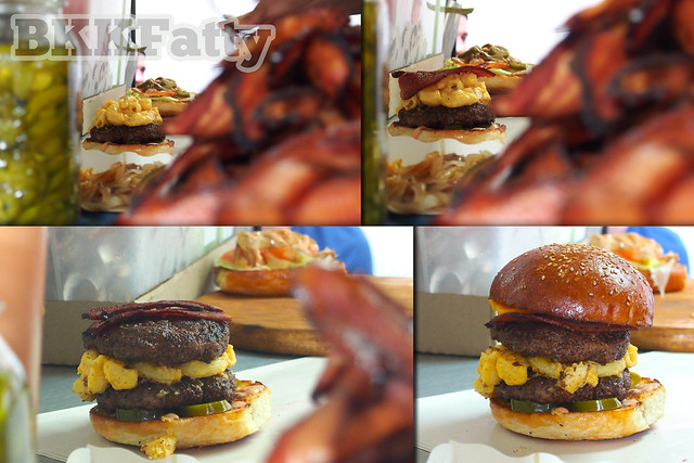 evolution mac n cheese burger daniel thaiger