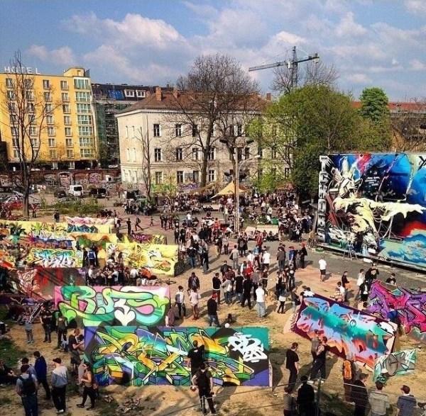 Yard 5 graffiti jam berlin