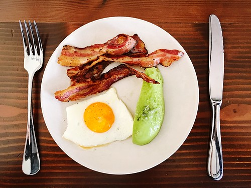 Ketogenic Keto KetogenicDiet Breakfast // Plate Fork Food And Drink Breakfast Fried Egg Fried English Breakfast Food Table Freshness Bacon Healthy Eating Indoors  No People Close-up Sausage Ready-to-eat Day Bacon! Bacon And Eggs at Hillside Supper Club