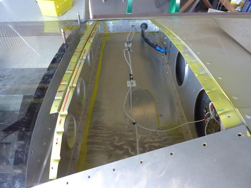 Ready to rivet pilot root skin