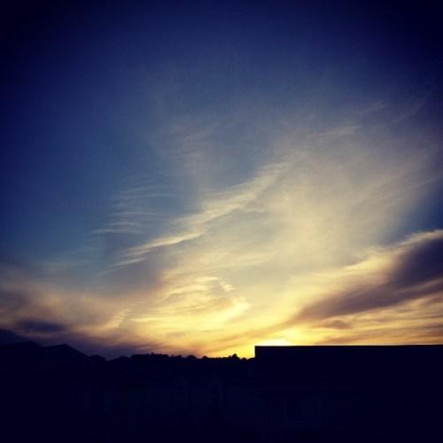 #gorgeous #sunset tonight