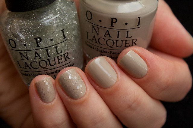 03 OPI Did You'Ear About Van Gogh? + OPI Pirouette My Whistle