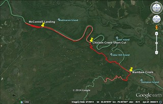 Santee River Track