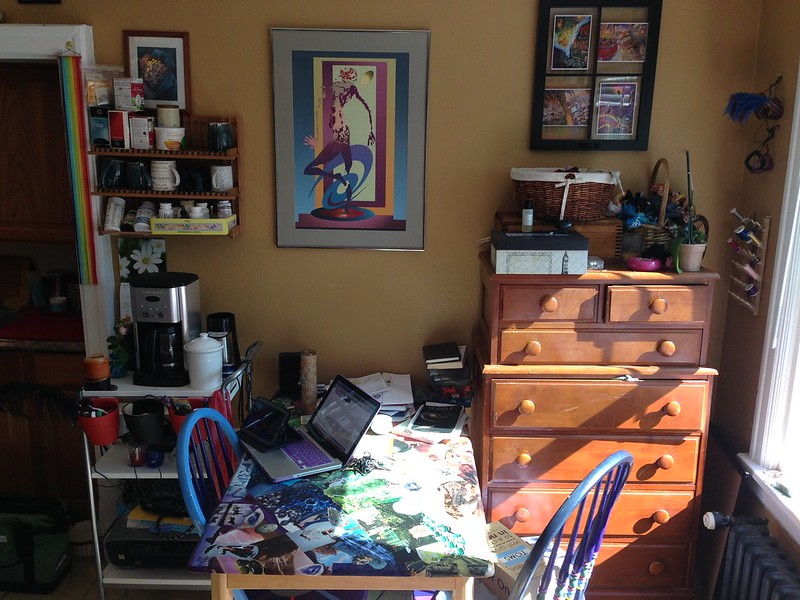 Dinning/Living Room nook