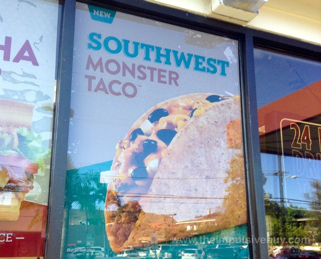 Jack in the Box Southwest Monster Taco