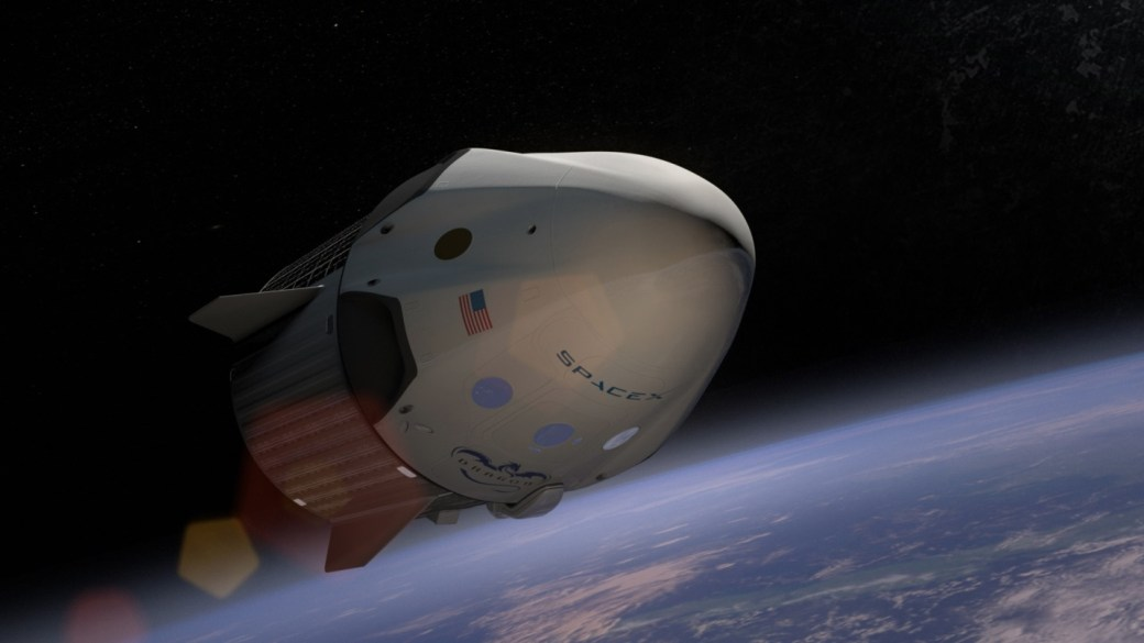 SpaceX Dragon 2 spacecraft