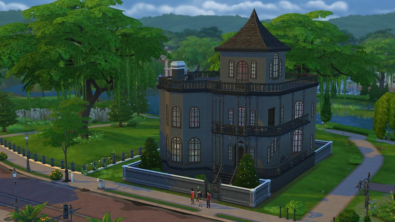 Les Sims 4 Gothik