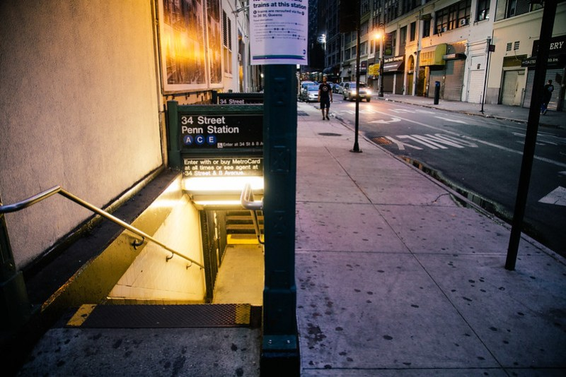 Early Morning subway
