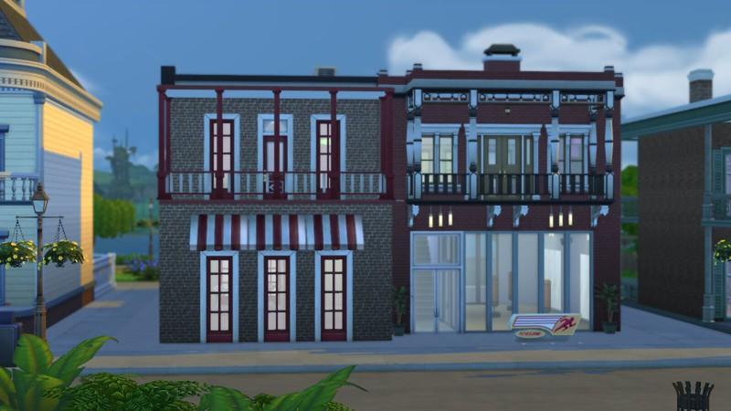Les Sims 4 salle de sport