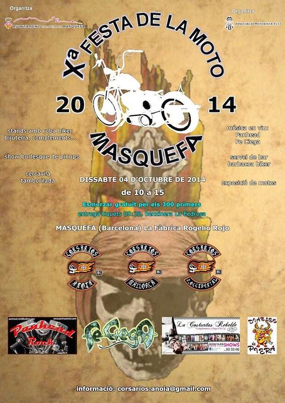 X Festa de la Moto (Masquefa)