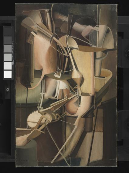 14. Marcel Duchamp, La Mariée © ADAGP, Paris 2014 Uti 425