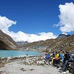 52-Camino Gokyo. Primer lago