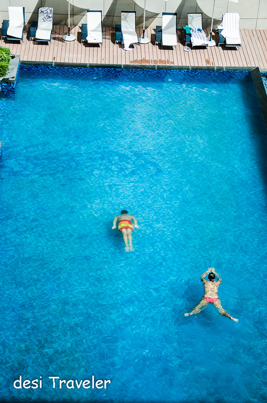 swimming pool Ibis Delhi Airport Aerocity