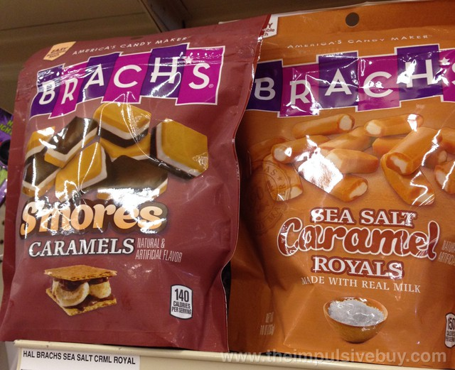 Brach's S'mores Caramels and Sea Salt Caramel Royals